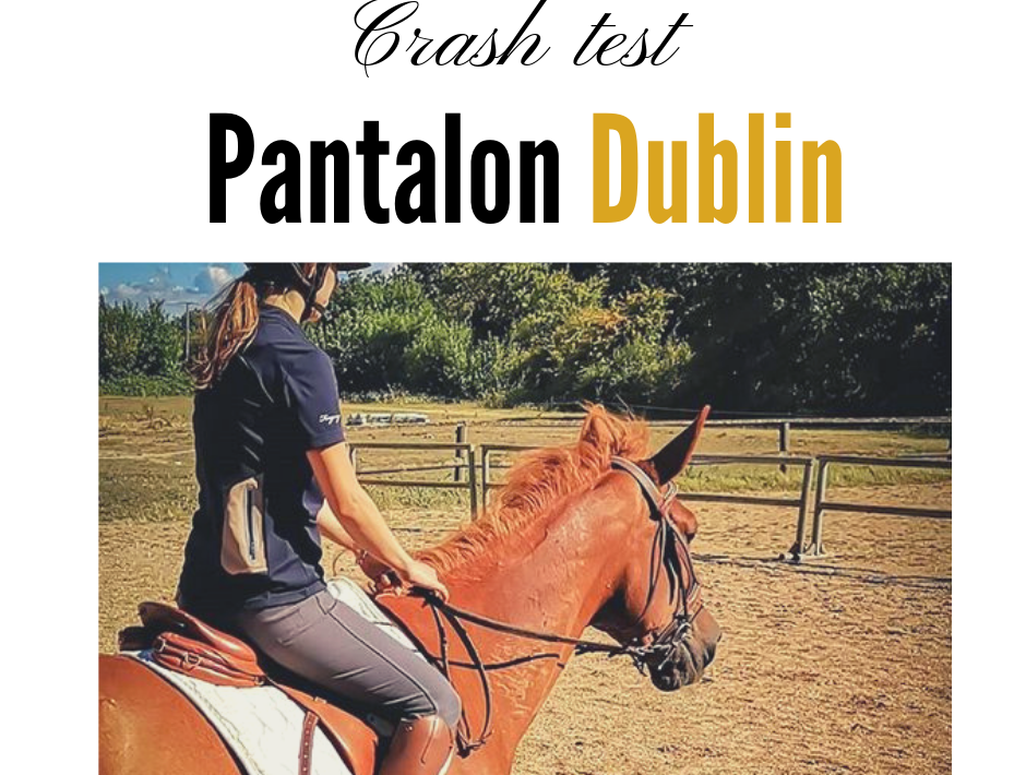Pantalon d'équitation Dublin shape it performance