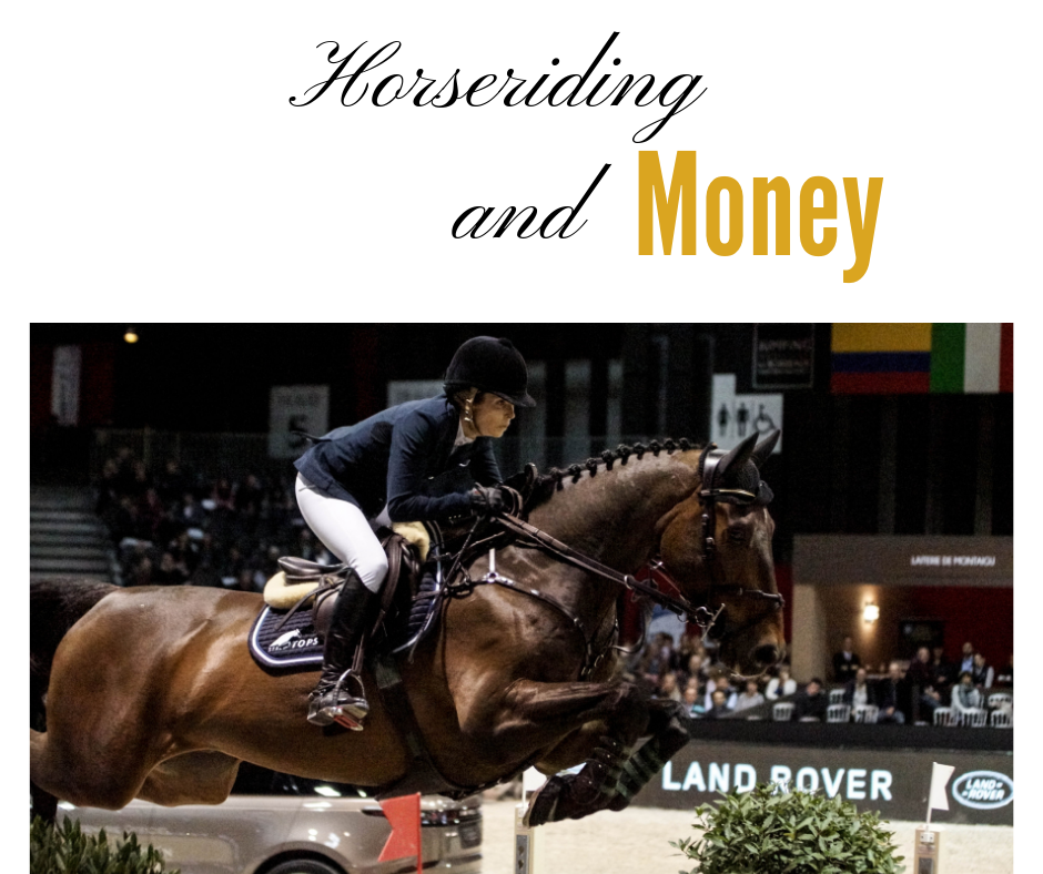 horseback riding and money, am I rich ?