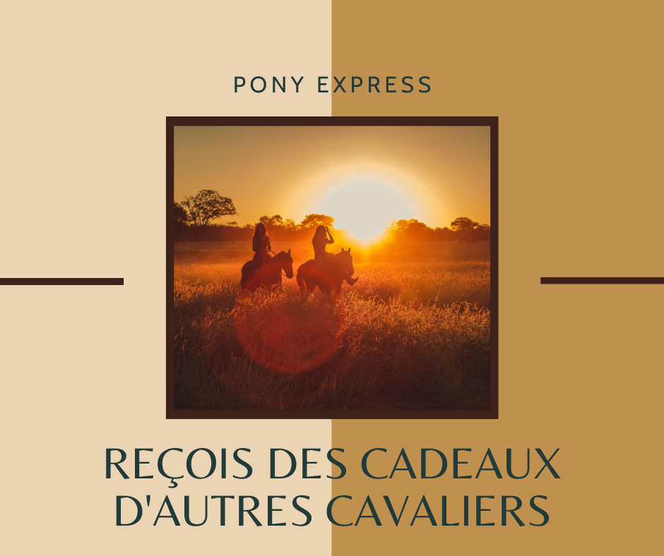 Pony express giveaway cavalier